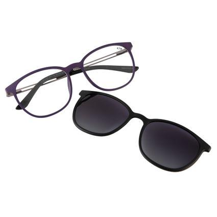 3b031b83f7db5 Armação para Óculos de Grau Feminino Chilli Beans Multi Polarizada Roxo 0187