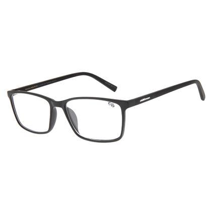 59c568a67baba Armação para Óculos de Grau Masculino Chilli Beans Retangular Preto 0105