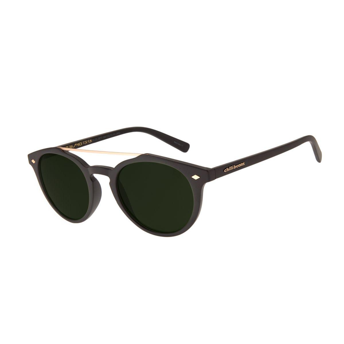 2bf047e621dd5 Óculos de Sol Unissex Chilli Beans Vintage por Marcelo Sommer Marrom ...