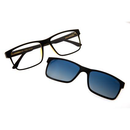 Armação Para Óculos Grau Masculino Chilli Beans Multi Quadrado Degradê LV.MU.0137-2001