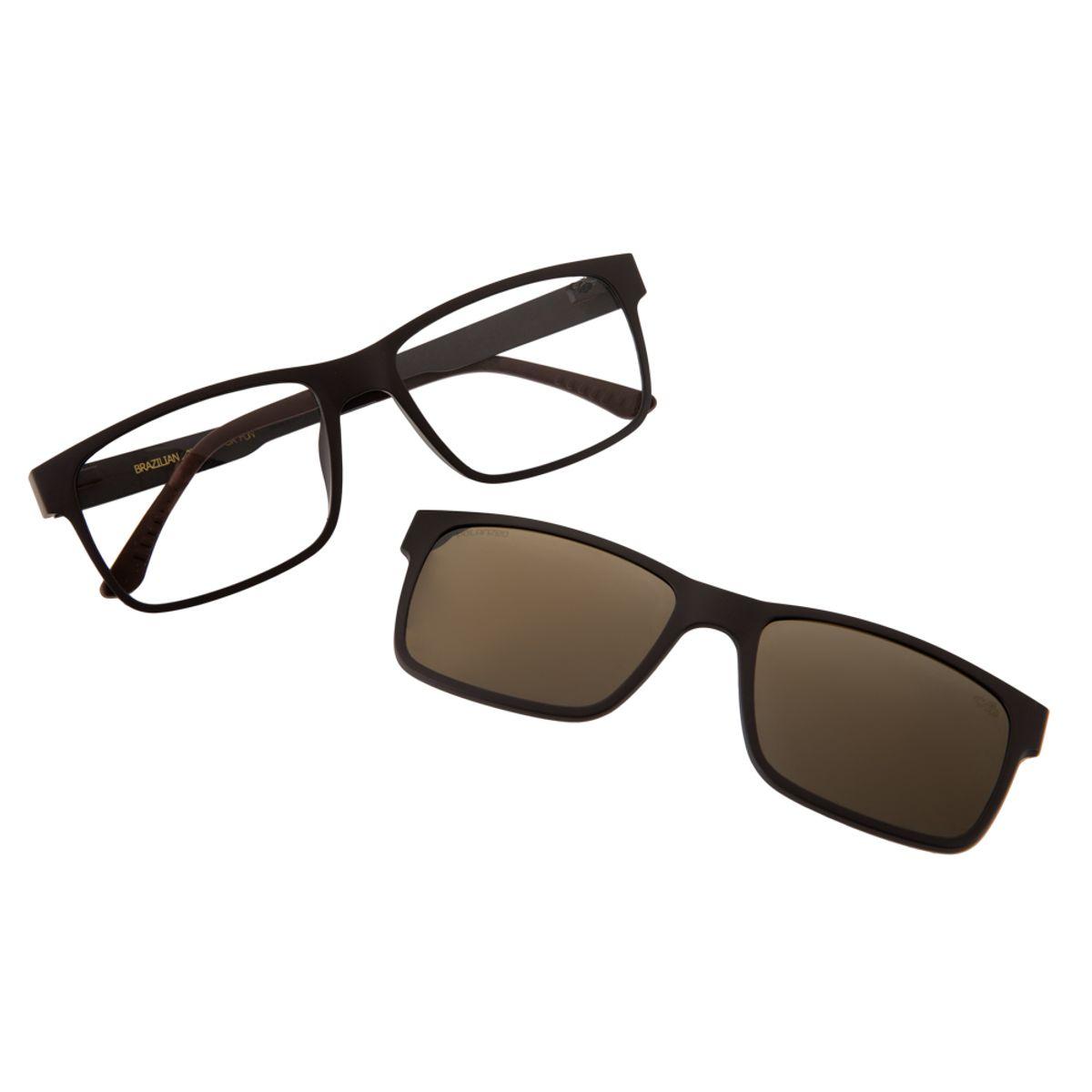 8d2f3b607 Armação para Óculos de Grau Masculino Chilli Beans Multi 2 em 1 ...