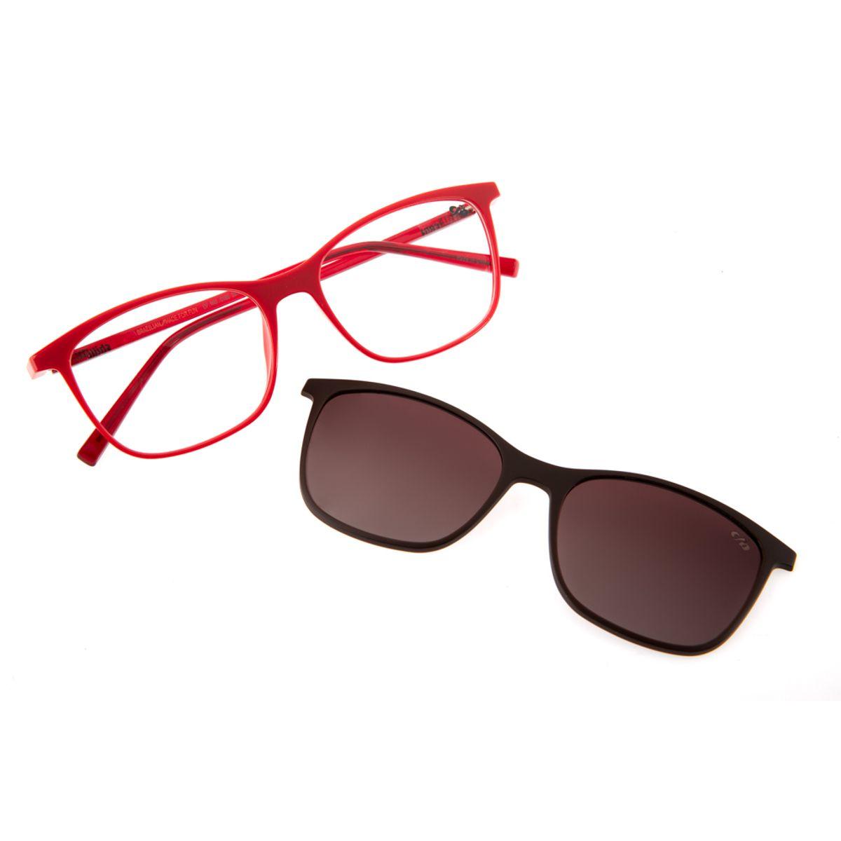 e7188ccb35095 Armação para Óculos de Grau Feminino Chilli Beans Multi 2 em 1 ...