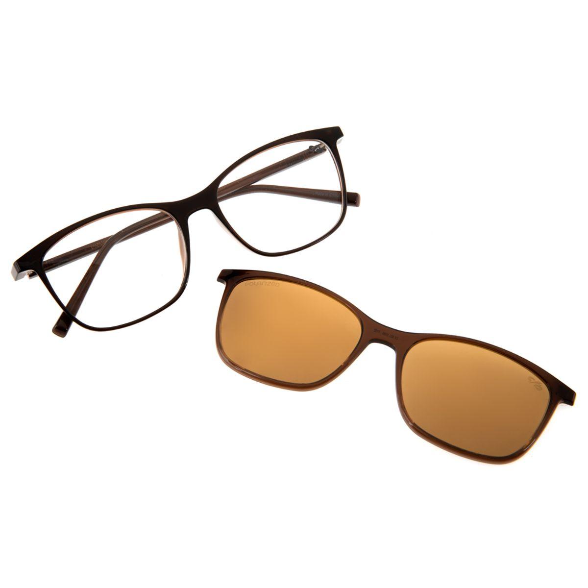 e0ce78179 Armação para Óculos de Grau Feminino Chilli Beans Multi 2 em 1 ...