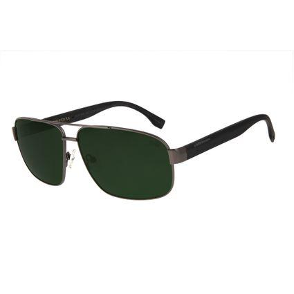 1121d3d9c0502 Óculos de Sol Chilli Beans Masculino Metal Army Polarizado Verde 2610