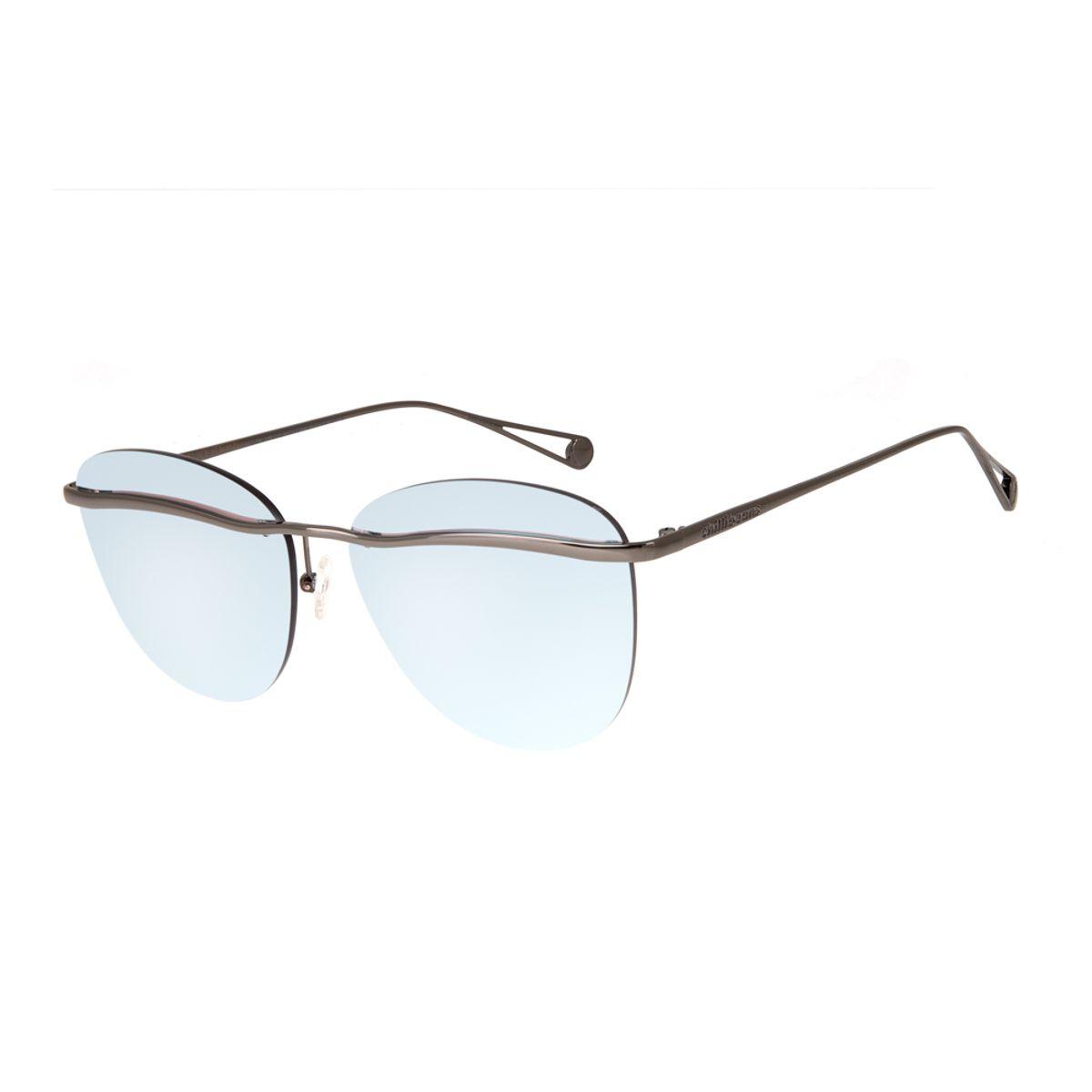 ddacc86b2 Óculos de Sol Chilli Beans Feminino Metal Máxi Lente Flutuante ...