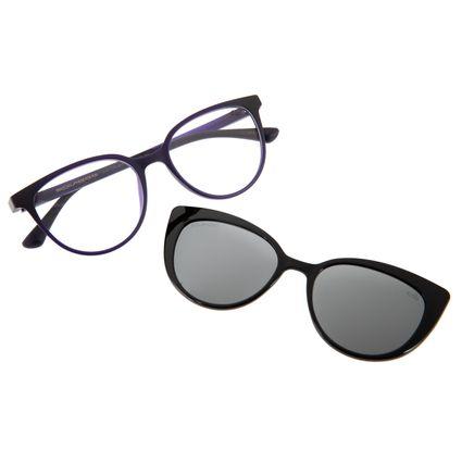 2e1e7ac19 Armação para Óculos de Grau Chilli Beans Feminino Multi 2 em 1 Roxo  Polarizado 0178 R$ 359,98 ou 4x de R$ 89,99 Ver detalhes