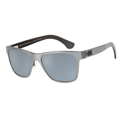Óculos de Sol Masculino Esportivo Polarizado Cinza OC.AL.0220-0031