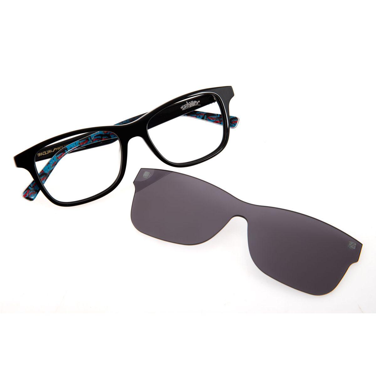8d3321e80 Armação para Óculos de Grau Chilli Beans Masculino Multi Arte de Rua ...