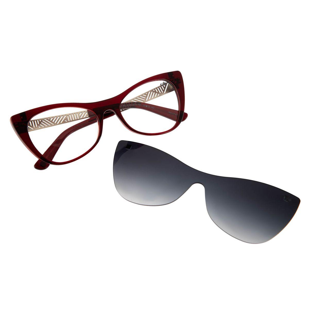 950189e92 Armação para Óculos de Grau Chilli Beans feminino Multi Arte de Rua ...