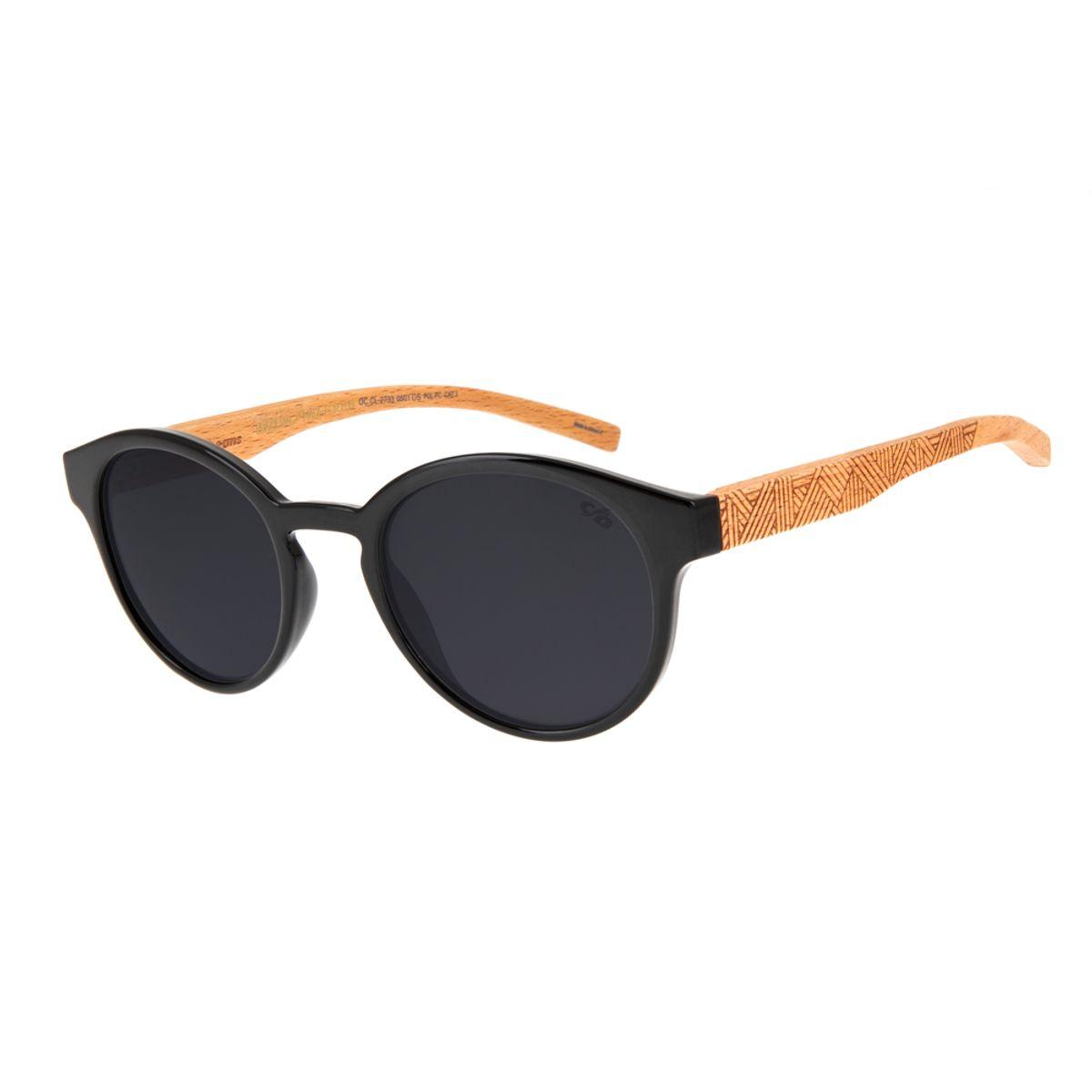 aaa21a996 Óculos de Sol Chilli Beans Masculino Arte de Rua Cranio Preto Bambu  Polarizado 2733 - OC.CL.2733.0501 M. REF: OC.CL.2733.0501. Previous