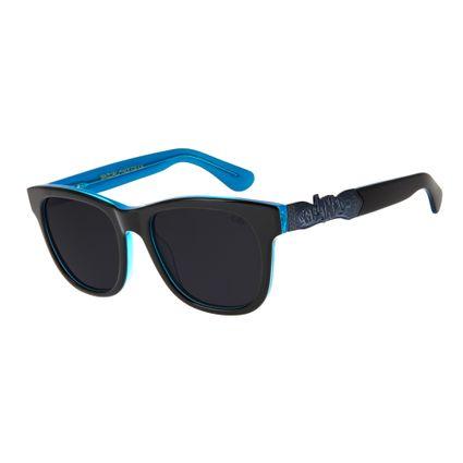 e57a532173cf3 Óculos de Sol Chilli Beans Masculino Arte de Rua Cranio Assinatura  Polarizado Fumê 2744