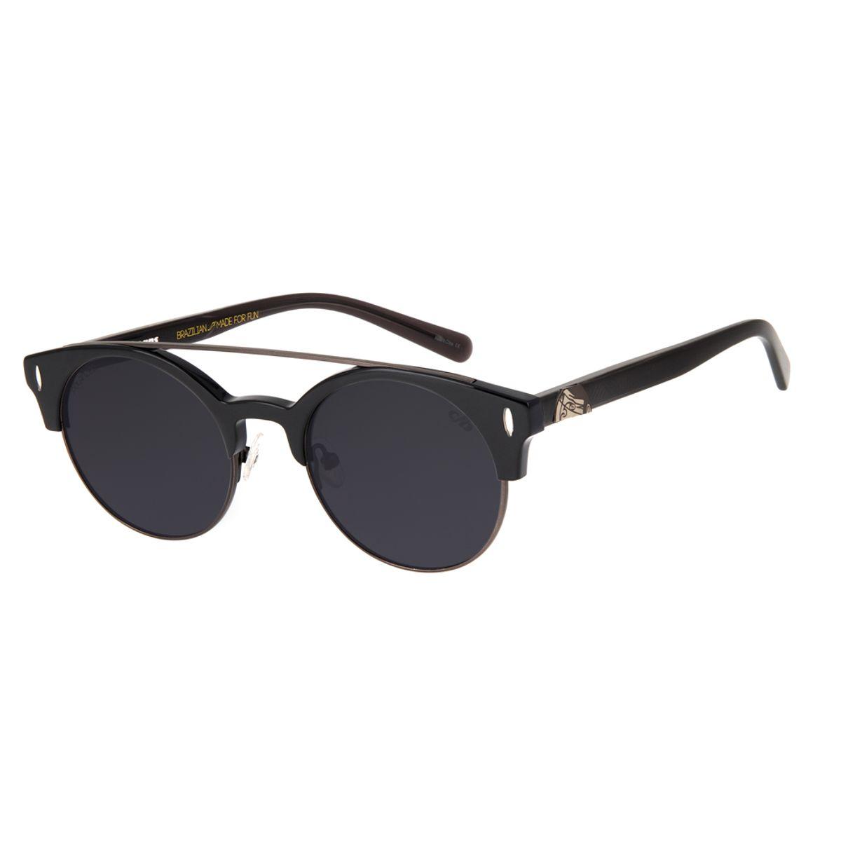 969671848 Óculos de Sol Chilli Beans Unissex Arte de Rua Cranio Penas ...