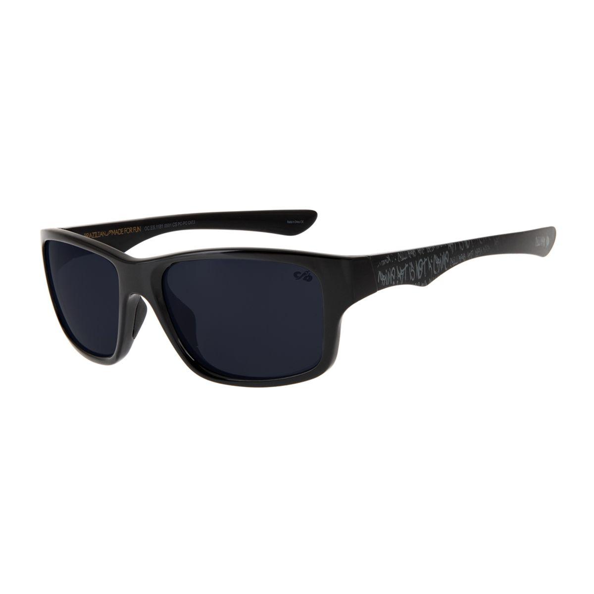 d3339e9e7cf62 Óculos de Sol Chilli Beans Masculino Esportivo Cranio SK8 Polarizado ...