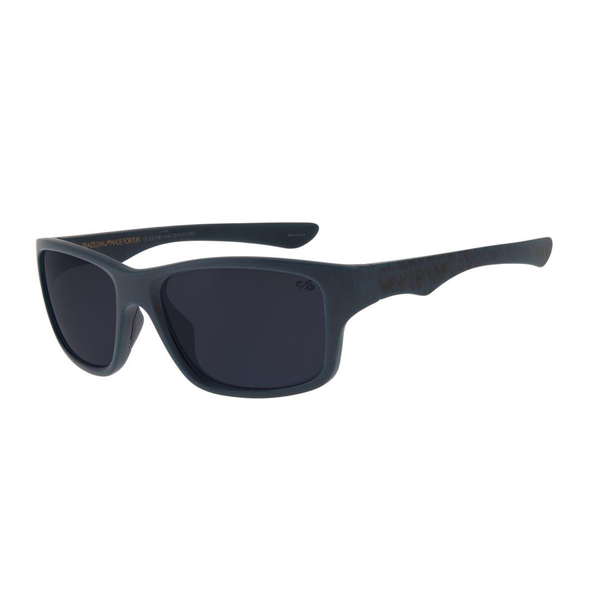 0182095a3 Óculos de Sol Chilli Beans Masculino Esportivo Cranio SK8 Polarizado ...
