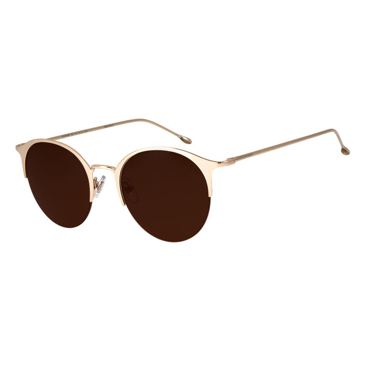 b214d484c Óculos de Sol Chilli Beans Feminino Jazz Redondo Arte de Rua Cranio ...