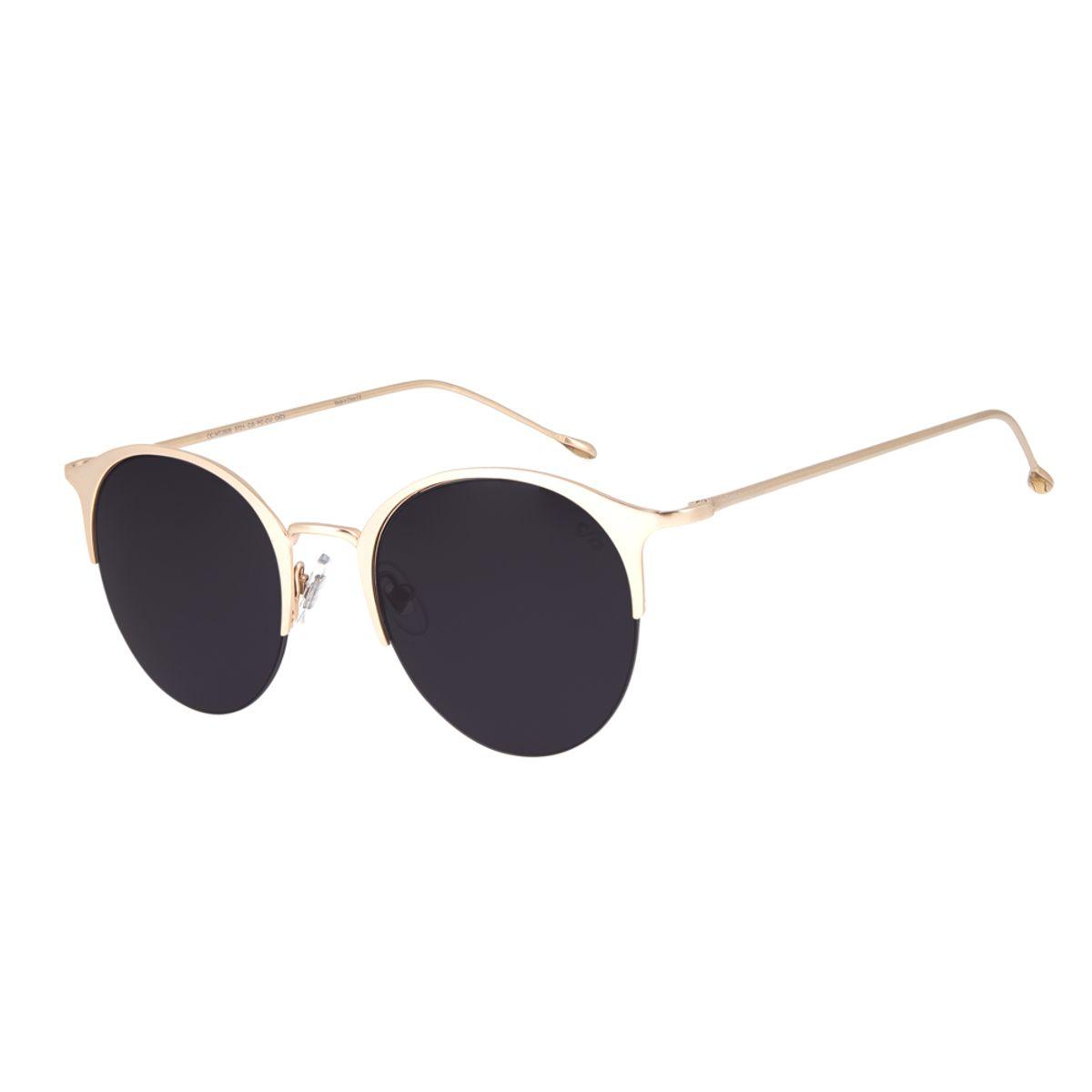 454ebcaf4e7dd Óculos de Sol Chilli Beans Feminino Jazz Redondo Arte de Rua Cranio ...