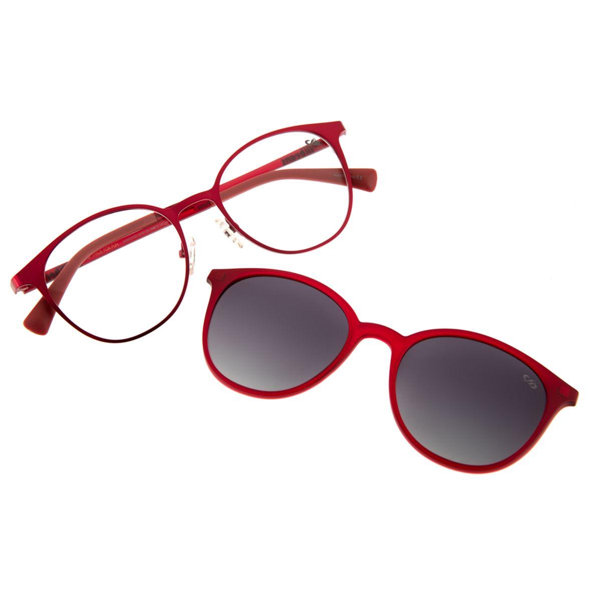 0c89ac89297b9 Armação para Óculos de Grau Chilli Beans Feminino Multi 2 em 1 ...