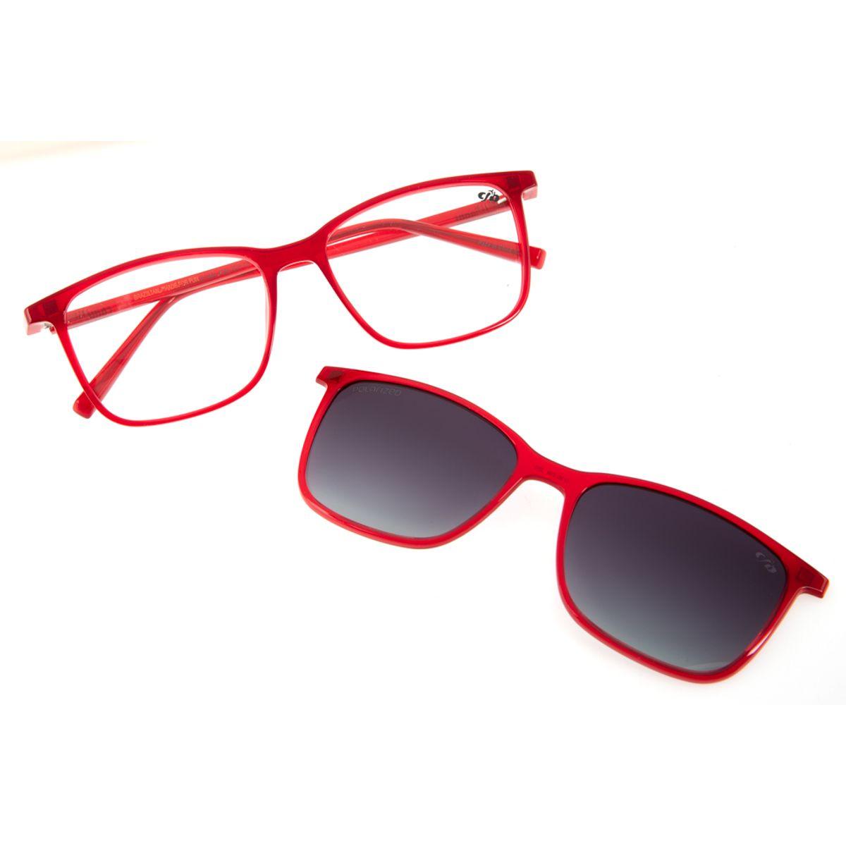 d07db60fc7341 Armação para Óculos de Grau Chilli Beans Feminino Multi 2 em 1 ...