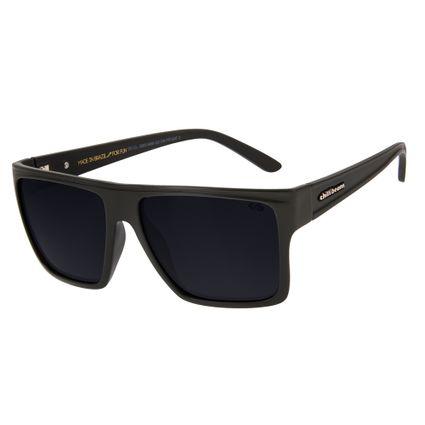Óculos de Sol Chilli Beans Unissex Quadrado Verde Polarizado Essential OC.CL.2203-0489