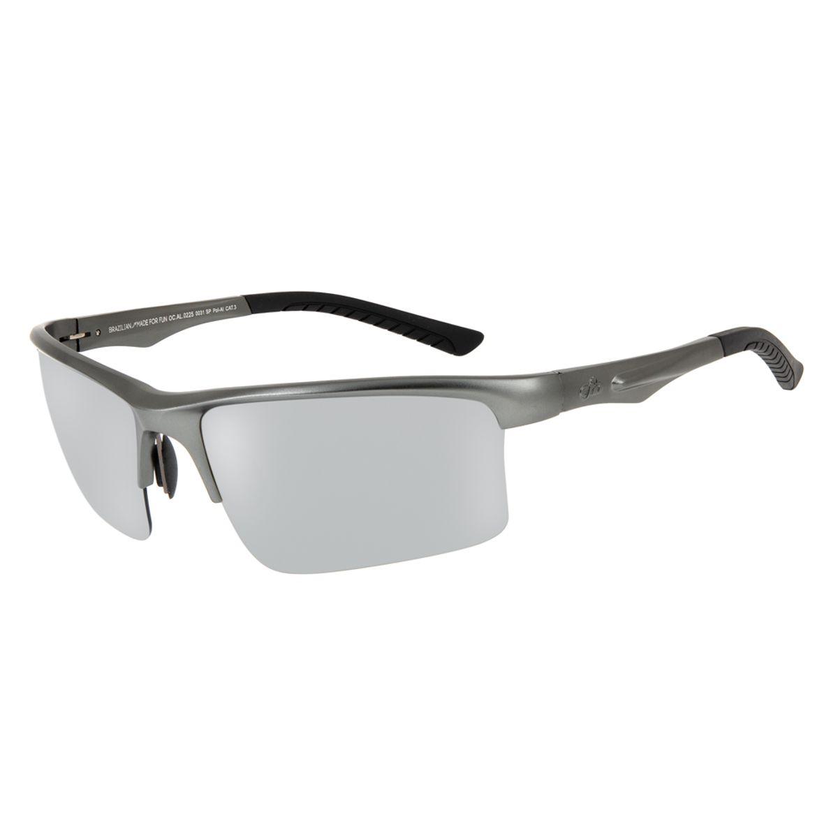 5d10956f5 Óculos de Sol Chilli Beans Esportivo Masculino Polarizado Preto Fosco 0225  - OC.AL.0225.0031 M