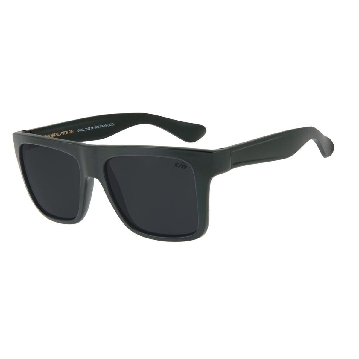 485f778bb247c Óculos de Sol Chilli Beans Masculino Bossa Nova Verde 2199 - Chilli ...