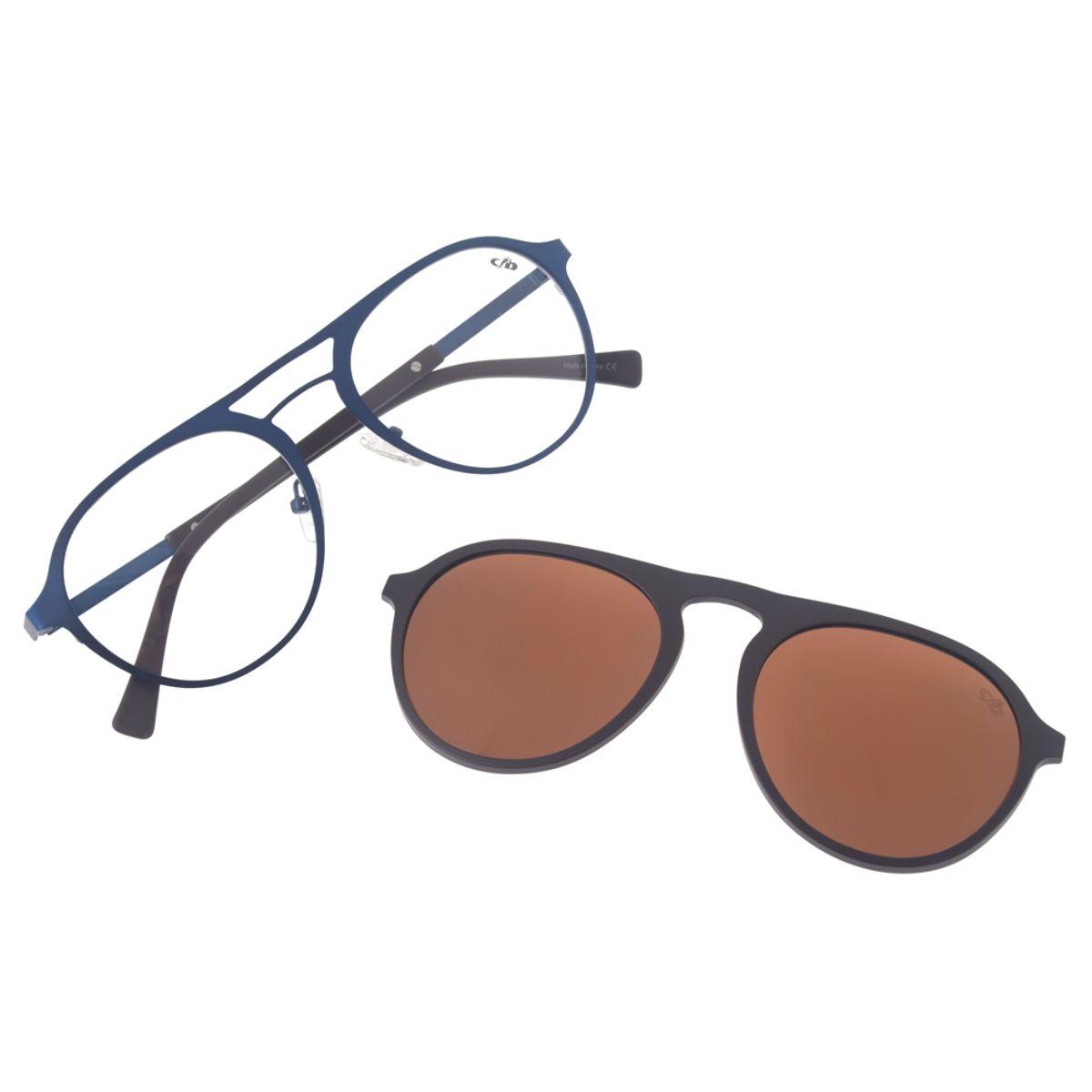 4b8902fed Armação para Óculos de Grau Redondo Chilli Beans Multi Unissex Polarizado  Azul 0153 - LV.MU.0153.0290 M. REF: LV.MU.0153.0290. Previous