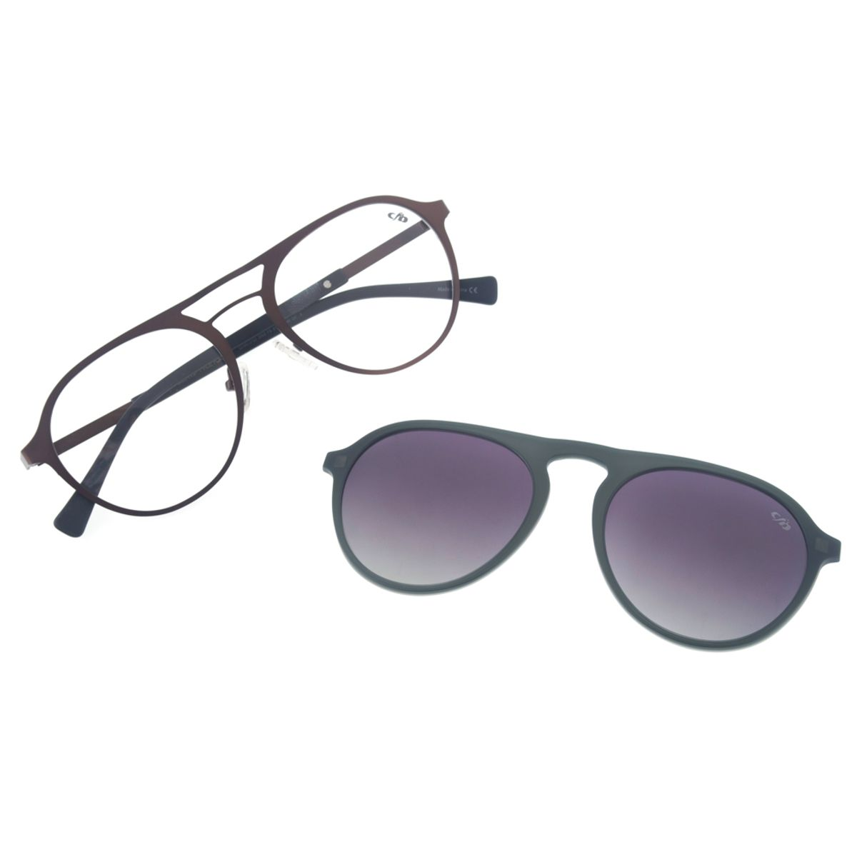 366d97632 Armação para Óculos de Grau Redondo Chilli Beans Multi Unissex Polarizado  Marrom 0153 - LV.MU.0153.2002 M. REF: LV.MU.0153.2002. Previous