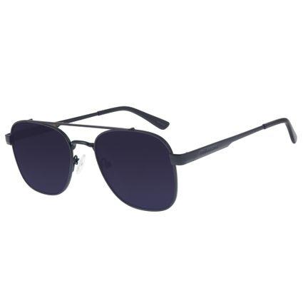 Óculos de Sol Chilli Beans Executivo Masculino Aço Preto 2611