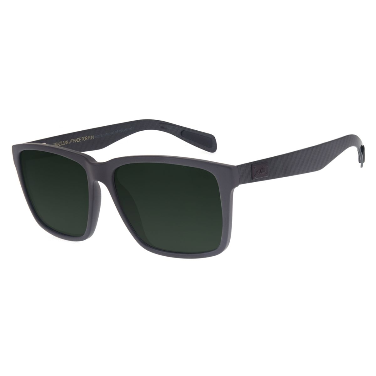 a97f0ffd0 Óculos de Sol Chilli Beans Esportivo Unissex Polarizado Marrom 1179 ...