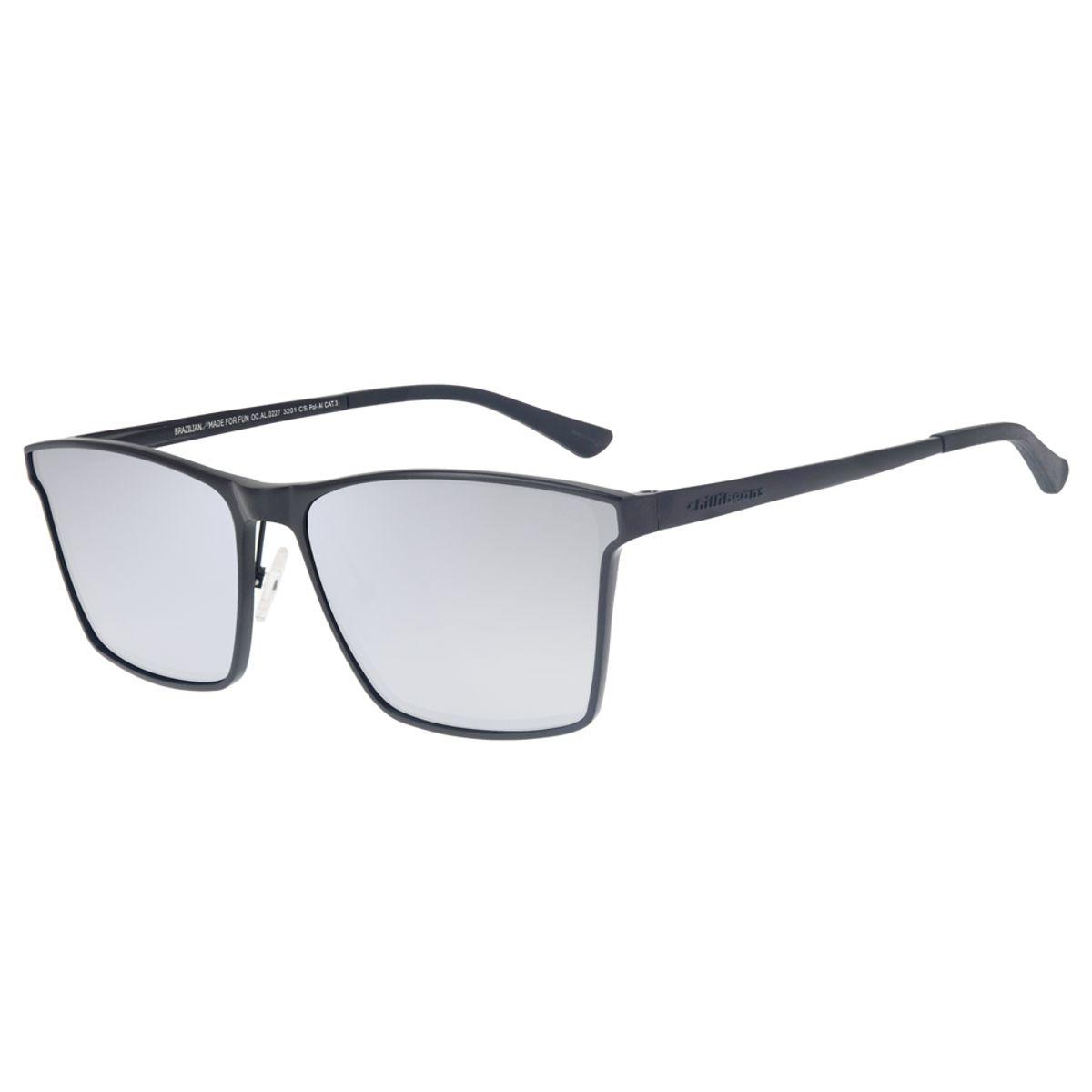 add3491ae Óculos de Sol Chilli Beans Masculino Alumínio Polarizado Espelhado ...