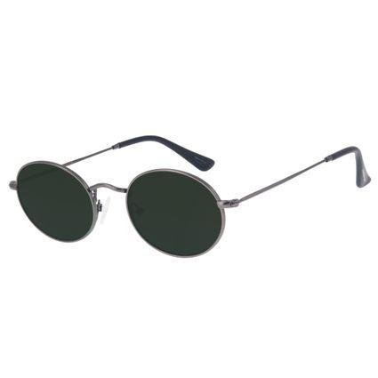 eb057cb8b693a Óculos de Sol Chilli Beans Unissex Retrô Redondo Ônix 2621