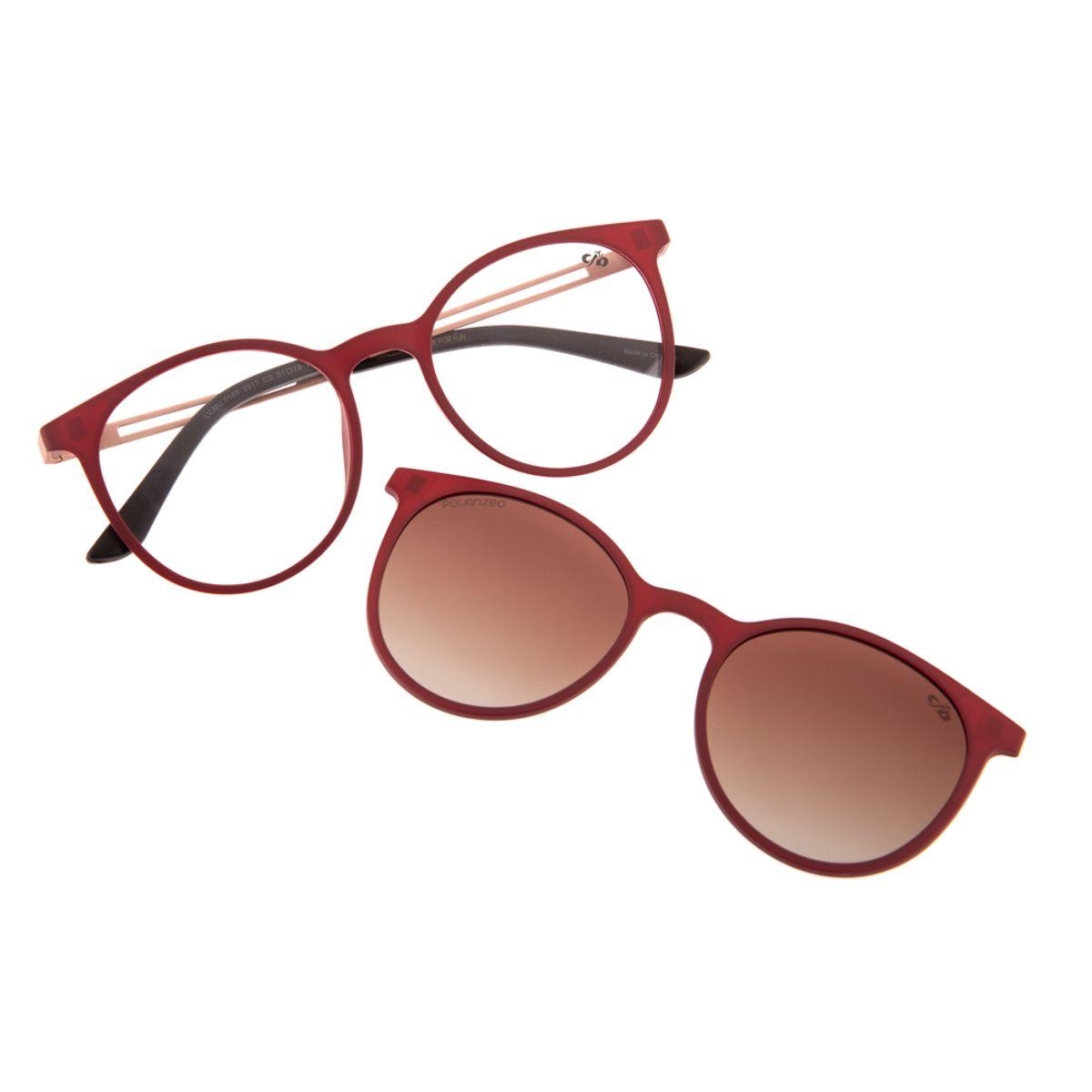 4fb5af221 Armação para Óculos de Grau Feminino Chilli Beans Redondo Multi ...