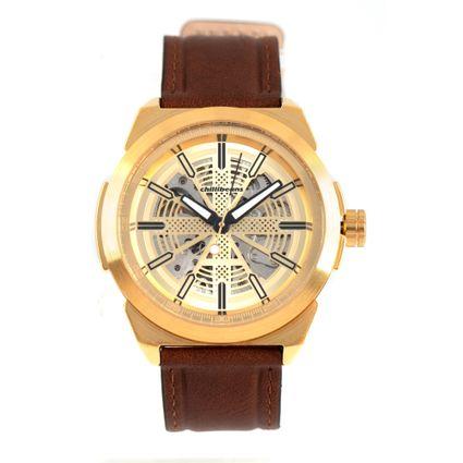 ffe91187d Relógio Masculino Chilli Beans Mecânico Dourado 0362 R$ 499,98 ou 4x de R$  124,99 Ver detalhes