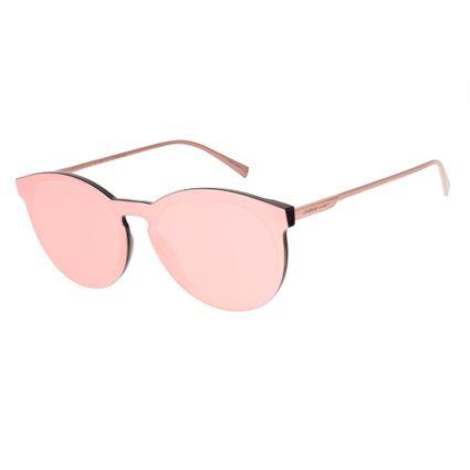 Óculos de Sol Feminino Chilli Beans Summer Block Redondo Rosê   OC.CL.2660-9522