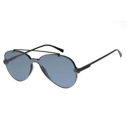 oculos de sol chilli beans unissex summer block cinza escuro 2667 0028