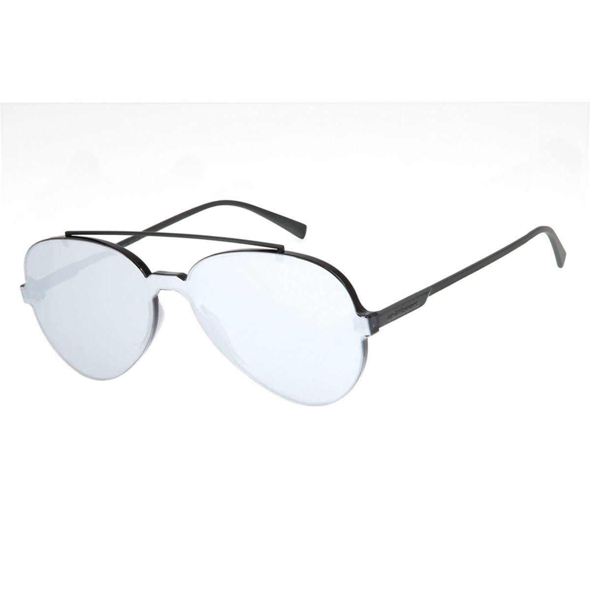 4c89e877a Óculos De Sol Chilli Beans Aviador Unissex Summer Block Cinza ...