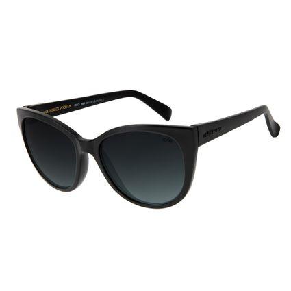 oculos de sol chilli beans redondo classico feminino preto 2683 8301