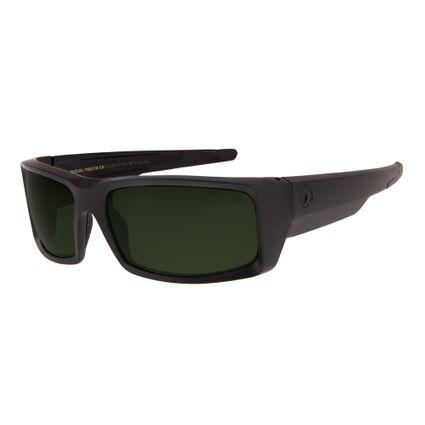 7164a38b99ca2 Óculos De Sol Chilli Beans Unissex Esportivo Polarizado Preto Fosco 1177