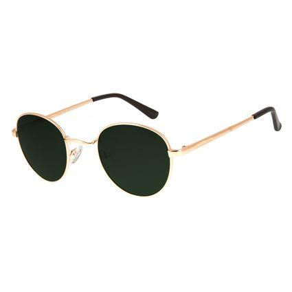 677f5f5ee Óculos De Sol Chilli Beans Unissex Metal Redondo Dourado 2517 R$ 249,98 ou  4x de R$ 62,49 Ver detalhes