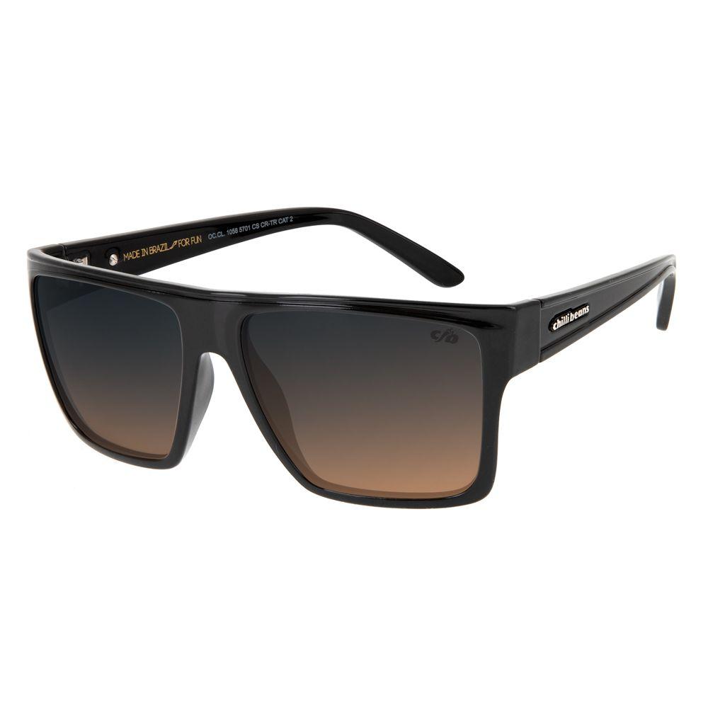 Óculos de Sol Unissex Chilli Beans Quadrado Degradê OC.CL.1058-5701