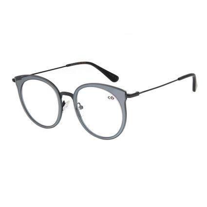 Armação para Óculos de Grau Chilli Beans Feminino Metal Preto 0316