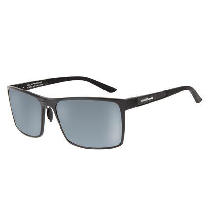 e225b7af12608 Óculos de Sol Chilli Beans Esportivo Masculino Quadrado Polarizado Preto  0228
