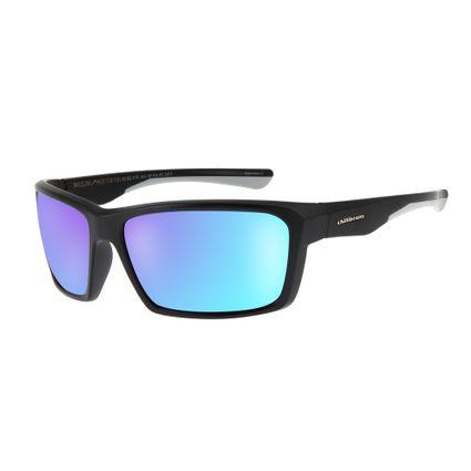 oculos de sol chilli beans esportivo unissex azul espelhado polarizado 1170 9101