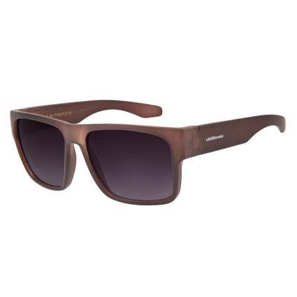 oculos de sol chilli beans esportivo masculino performance marrom escuro 1175 2047