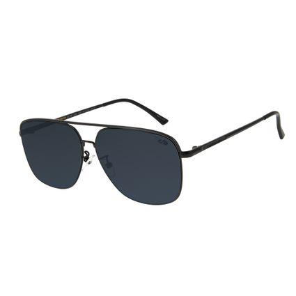 oculos de sol chilli beans masculino executivo metal preto 2602 0101