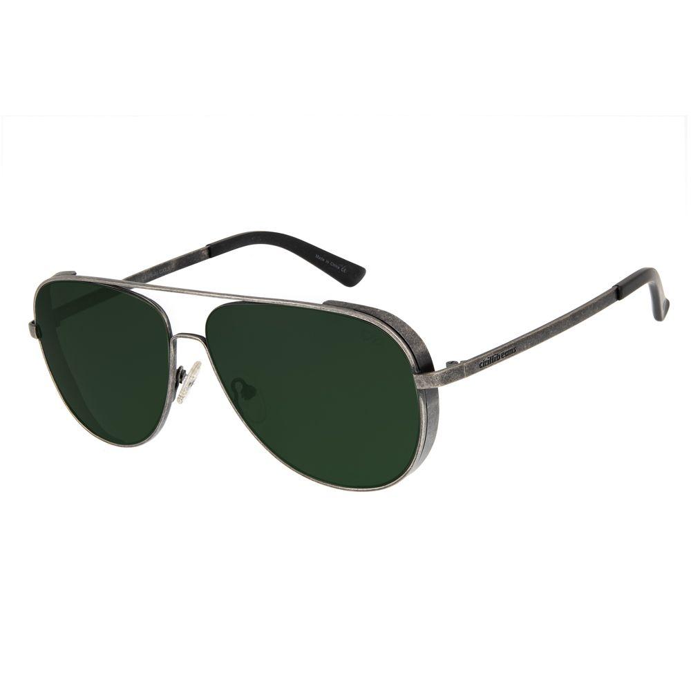 oculos de sol chilli beans masculino aviador metal azul onix 2630 1522