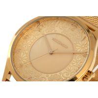 Relógio Analógico Feminino Lady Like Floral Metal Dourado RE.MT.0845-2121.5