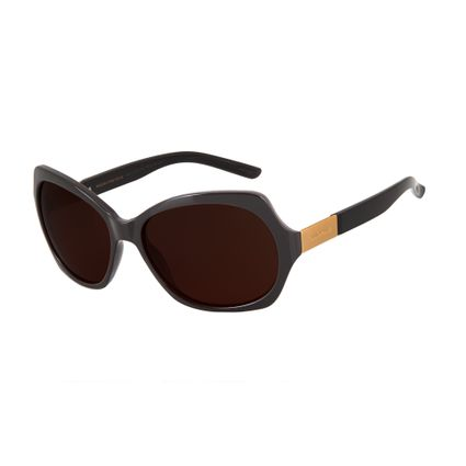 oculos de sol feminino chilli beans borboleta marrom 2472 0247