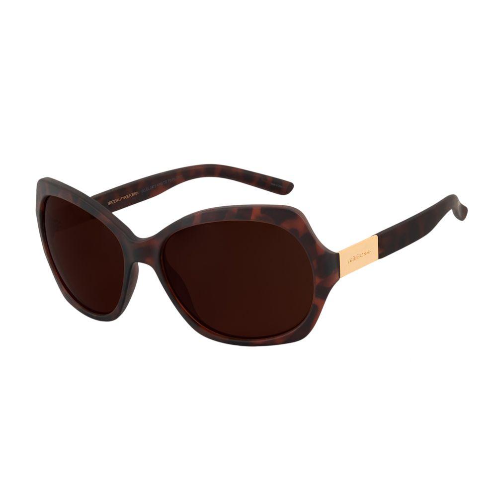 Óculos de Sol Feminino Chilli Beans Borboleta Tartaruga OC.CL.2472-4706