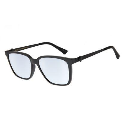 oculos de sol unissex chilli beans caveira quadrado preto 2680 0001